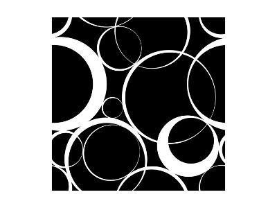 Seamless Monochrome Design-Maksim Krasnov-Art Print