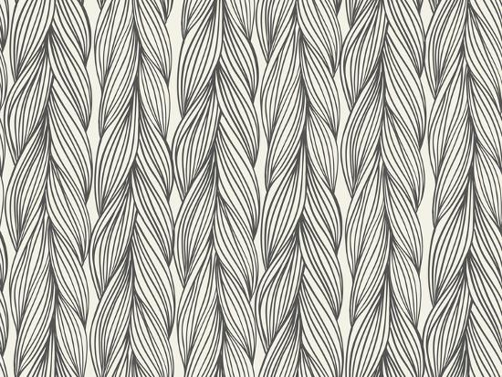 Seamless Pattern Imitation with Braids-tukkki-Art Print