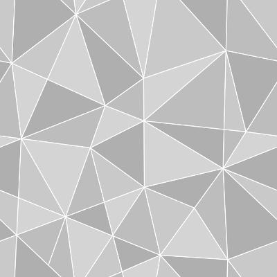 Seamless Triangles Texture, Abstract Illustration-100ker-Art Print