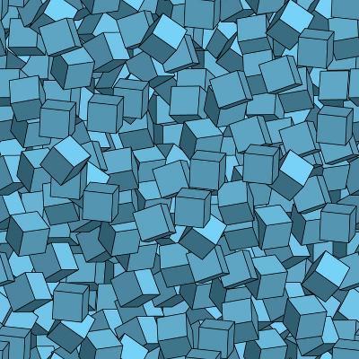 Seamless Vector Abstract Texture- Chet-Art Print