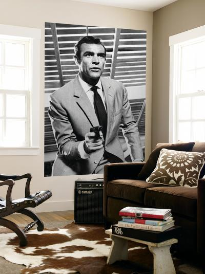 """Sean Connery. """"Doctor No"""" 1962, """"Dr. No"""" Directed by Terence Young--Wall Mural"""