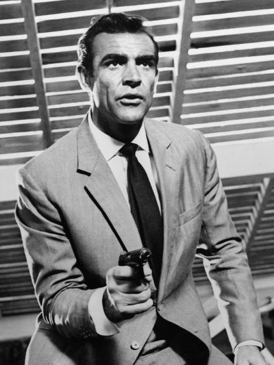"""Sean Connery. """"Doctor No"""" 1962, """"Dr. No"""" Directed by Terence Young--Photographic Print"""