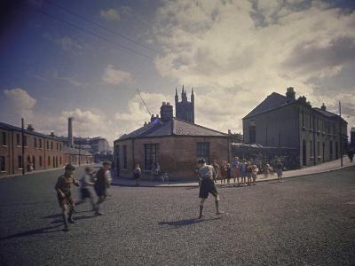 Sean O'Casey's Boyhood Home at 18 Abercorn Road-Gjon Mili-Photographic Print