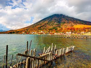 Lake Chuzenji and Mt. Nantai at Nikko National Park in Tochigi, Jpan by Sean Pavone