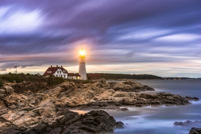 Portland Head Light in Cape Elizabeth, Maine, USA by Sean Pavone