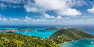 Virgin Gorda in the British Virgin Islands of the Carribean by Sean Pavone
