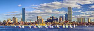 Boston, Massachusetts Skyline Panorama by SeanPavonePhoto