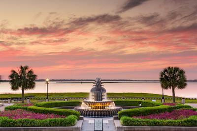 Charleston, South Carolina, USA at Waterfront Park.