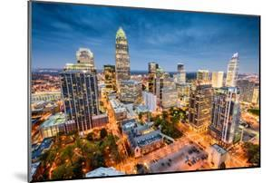 Charlotte, North Carolina, USA Uptown Cityscape. by SeanPavonePhoto