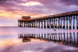 Cocoa Beach, Florida, USA at the Pier. by SeanPavonePhoto