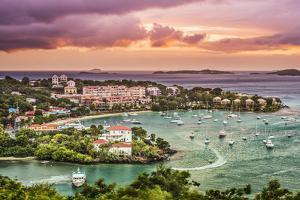 Cruz Bay, St John, United States Virgin Islands. by SeanPavonePhoto