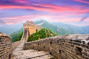 Great Wall of China at the Jinshanling Section. by SeanPavonePhoto