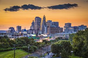 Hartford, Connecticut, USA Skyline. by SeanPavonePhoto