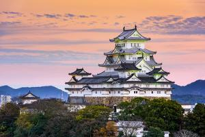 Himeji, Japan at the Castle. by SeanPavonePhoto