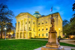 Raleigh, North Carolina, USA State Capitol Building. by SeanPavonePhoto
