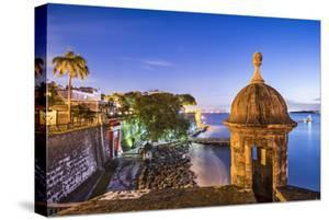 San Juan, Puerto Rico Coast at Paseo De La Princesa. by SeanPavonePhoto