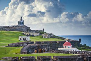 San Juan, Puerto Rico Historic Fort San Felipe Del Morro. by SeanPavonePhoto