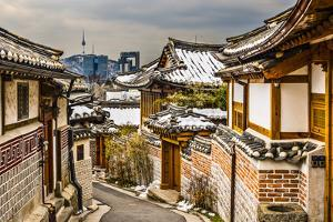 Seoul, South Korea at the Bukchon Hanok Historic District. by SeanPavonePhoto