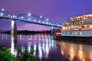 Showboat on the Tennessee River in Chattanooga, Tennessee. by SeanPavonePhoto