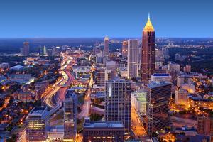Skyline of Downtown Atlanta, Georgia, USA by SeanPavonePhoto