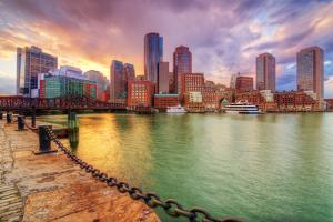 Skyline of Downtown Boston, Massachusetts, USA by SeanPavonePhoto