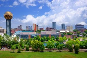 Skyline of Downtown Knoxville, Tennessee, Usa. by SeanPavonePhoto