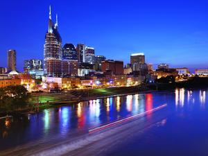 Skyline of Downtown Nashville, Tennessee, Usa. by SeanPavonePhoto