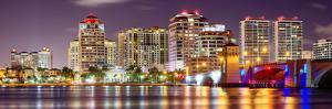 Skyline of West Palm Beach, Florida, Usa. by SeanPavonePhoto