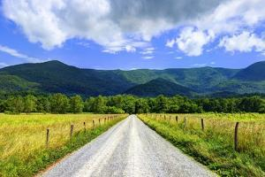 Sparks Lane in Cades Cove near Gatlinburg, Tennessee. by SeanPavonePhoto