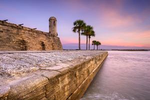 St. Augustine, Florida at the Castillo De San Marcos National Monument. by SeanPavonePhoto