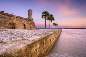 St. Augustine, Florida at the Castillo De San Marcos National Monument. by SeanPavonePhoto