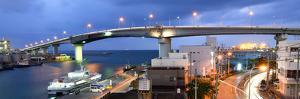 Tomari Bridge in Naha, Okinawa, Japan. by SeanPavonePhoto
