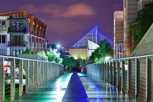 Urban Scene in Downtown Chattanooga, Tennessee, Usa. by SeanPavonePhoto