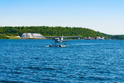 Seaplane in the Sea, Deep Bay, Parry Sound, Ontario, Canada--Photographic Print
