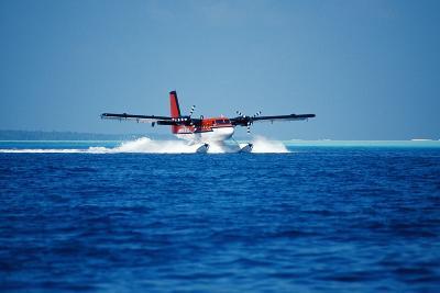 Seaplane Landing-Matthew Oldfield-Photographic Print
