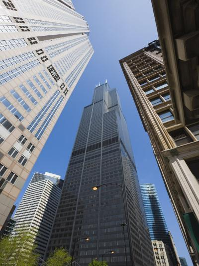 Sears Tower, Chicago, Illinois, United States of America, North America-Amanda Hall-Photographic Print