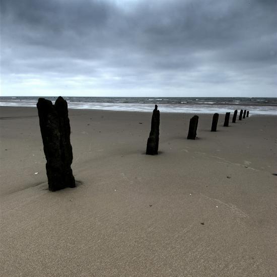 Seascape 01-Tom Quartermaine-Giclee Print