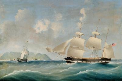 Seascape, 1850-I. Tudgay-Giclee Print