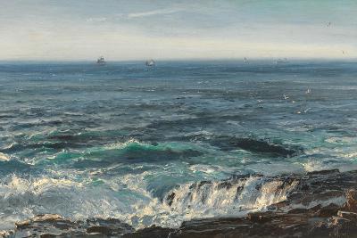 Seascape, 1877-Henry Moore-Giclee Print