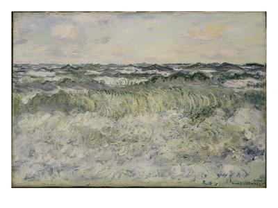 Seascape, 1881-Claude Monet-Giclee Print