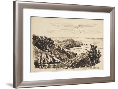 Seascape, 1887-William Trost Richards-Framed Giclee Print