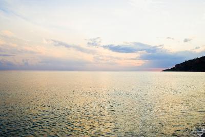 Seascape at Dusk, Guardia Piemontese, Calabria, Italy-Stefano Amantini-Photographic Print