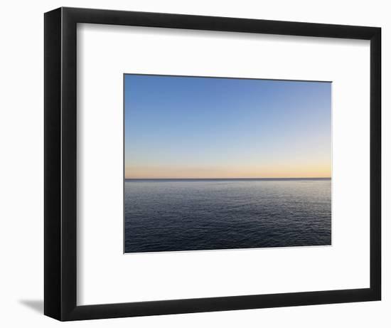 Seascape at Sunset-Norbert Schaefer-Framed Photographic Print