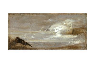Seascape, c.1850-60-Jean-Baptiste Carpeaux-Giclee Print