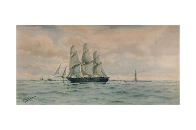 Seascape, c1895-Albert Ernest Markes-Giclee Print
