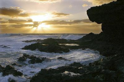 Seascape, Fuerteventura, Canary Islands-Peter Thompson-Photographic Print