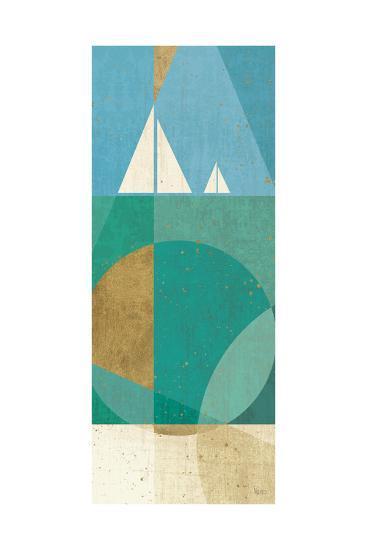 Seascape III-Veronique Charron-Art Print