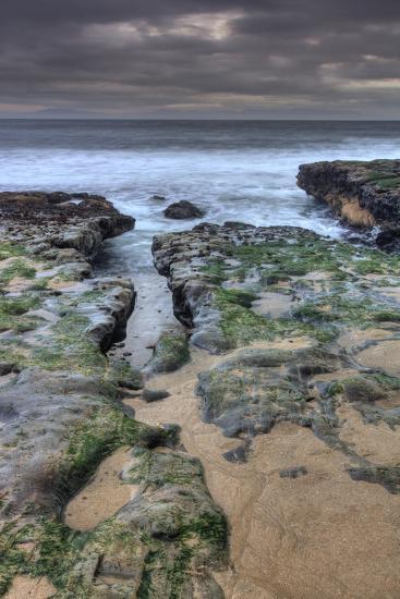 Seascape Layers-Vincent James-Photographic Print