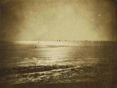 Seascape, Normandy, 1856-Gustave Le Gray-Giclee Print