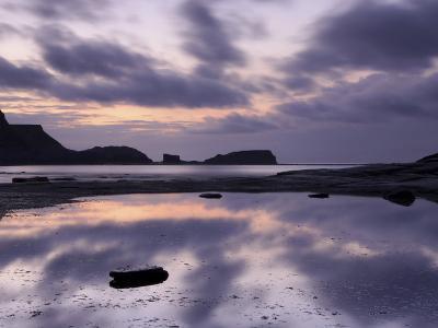 Seascape, Staithes, North Yorkshire, England, UK-Nadia Isakova-Photographic Print